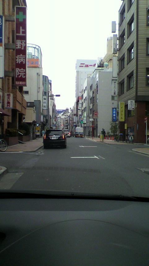 上野にて。