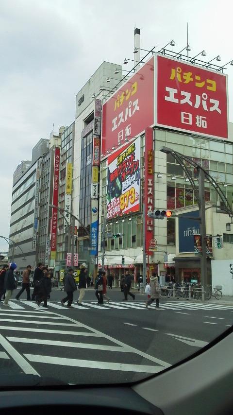 上野に来ました